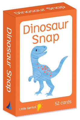 Lil Genius Dinosaur Snap Card Game