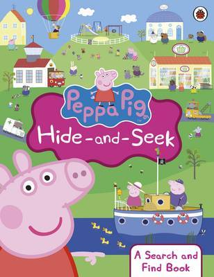 Peppa Pig: Peppa Hide and Seek: A Search and Find Book