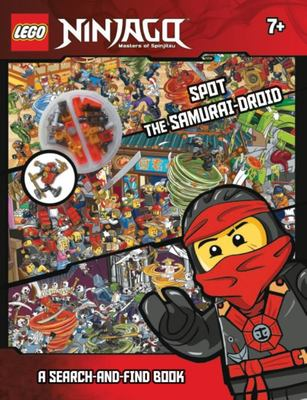 Spot the Samurai Droid: Search and Find Book (LEGO Ninjago)