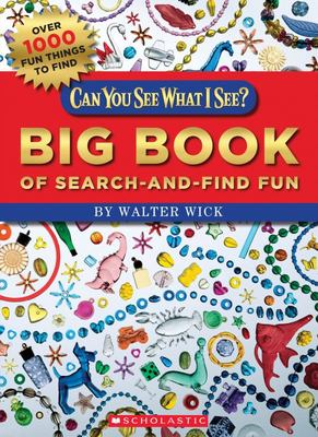 Can You See What I See? Big Book of Search-And-Find Fun