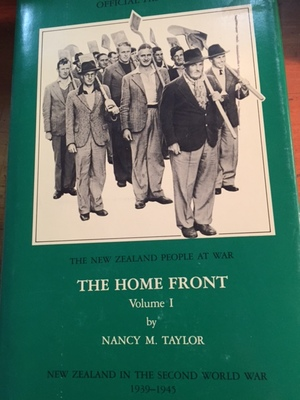 Official Historyof New Zealand in the Second World War 1939-45 The Home Front Volume I