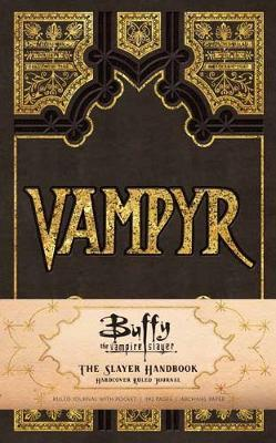 Buffy the Vampire Slayer Ruled Journal