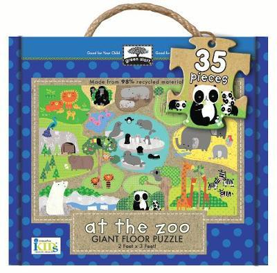 At the Zoo - Green Start Wooden Puzzles