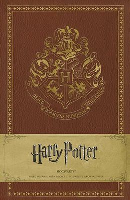 Harry Potter Hogwarts Ruled Journal (HB)