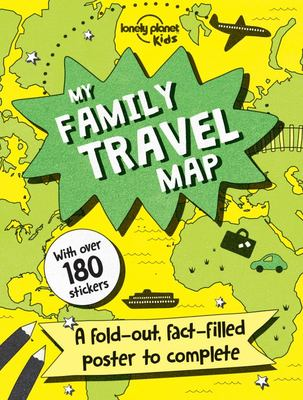 My Family Travel Map 1 (Lonely Planet Kids)