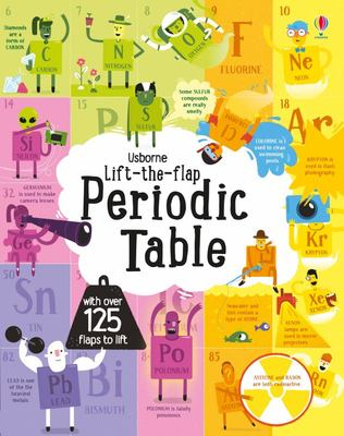 Periodic Table (Usborne Lift-the-Flap Board Book)
