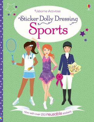 Sports (Usborne Sticker Dressing)