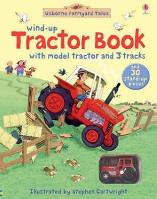 Wind-up Tractor Book (Usborne)