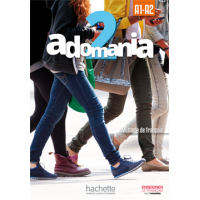 ADOMANIA 2/A1-A2 STUDENT PACK ENGLISH VERSION (TEXTBOOK, WORKBOOK, EBOOK CODE)
