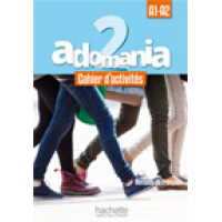 ADOMANIA 2/A1-A2 WORKBOOK ENGLISH VERSION & CD & PARCOURS DIGITAL CODE