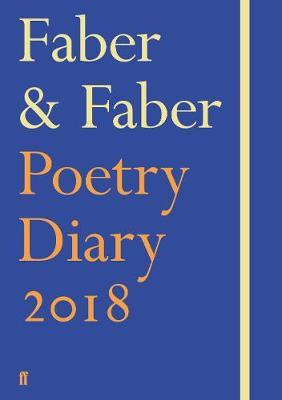 2018 Faber & Faber Poetry Diary Royal Blue