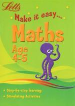 Letts Make It Easy: Maths Age 4-5