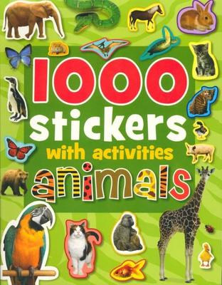 1000 Stickers With Activities: Animals