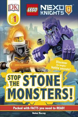 Stop the Stone Monsters! (LEGO Nexo Knights: DK Reader Level 1)