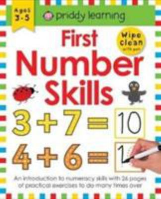 First Number Skills (Wipe Clean Workbook)