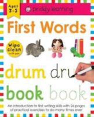 First Words (Wipe Clean Workbook)