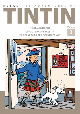 The Adventures of Tintin (Bind-Up #3: Black Island, King Ottokar's Sceptre, The Crab with the Golden Claws)