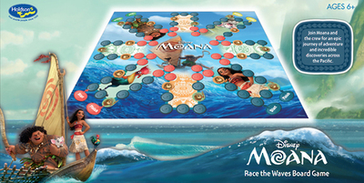 Moana: Race The Waves Board Game