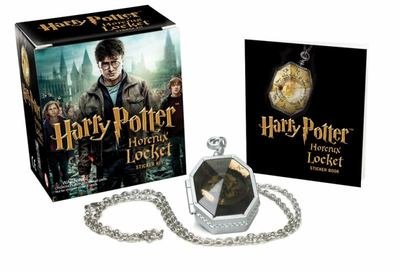 Harry Potter Slytherin's Locket Horcrux Kit & Sticker Book