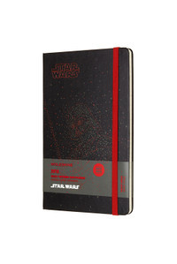Star Wars Darth Vader Large Weekly Notebook Hardcover Moleskine 2018 Diary