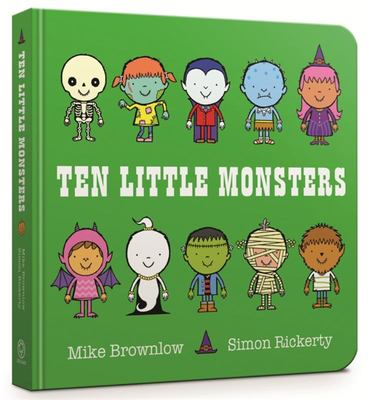 Ten Little Monsters (Board)