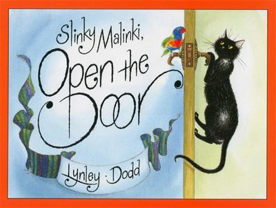 Slinky Malinki Open the Door (Board Book)