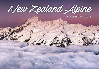 New Zealand Alpine  2018 Calendar