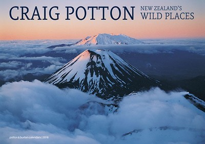 New Zealand's Wild Places 2018 Calendar
