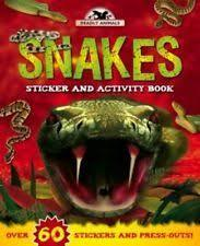 Snakes (Deadly Animals Sticker and Activity)