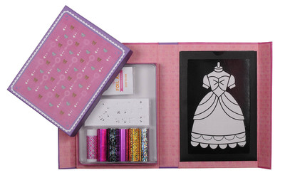 Foil Art - Princess Gowns