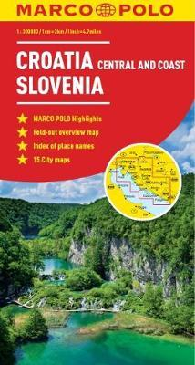 Croatia / Slovenia Marco Polo Map