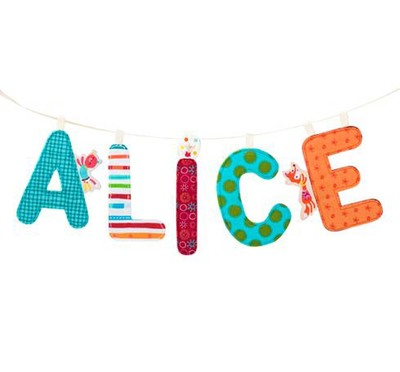 Y - Fabric Hanging Letter 9.5cm