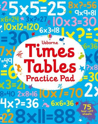 Time Tables Practice Pad