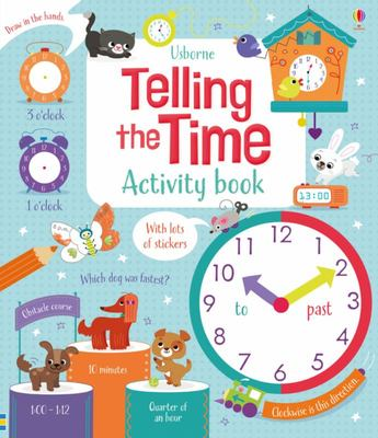Telling the Time Activity Book (Usborne)