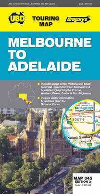 Touring Melbourne To Adelaide 345 2Ed