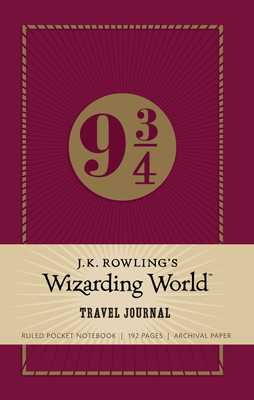 9 3/4: J.K. Rowling s Wizarding World : Magical Journeys Ruled Pocket Journal