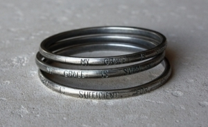 Bangle - My Grace is sufficient for you (65mm)
