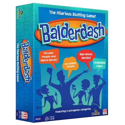 Balderdash : the Hilarious Bluffing Game