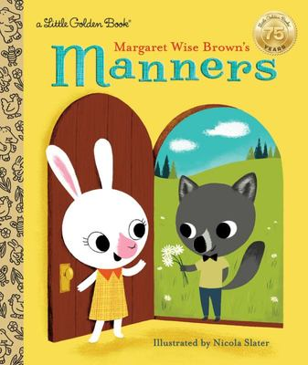 LGB Margaret Wise Brown's Manners (Little Golden Book)