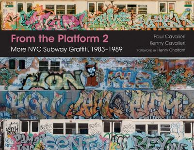 From the Platform 2  More NYC Subway Graffiti 1983-1989