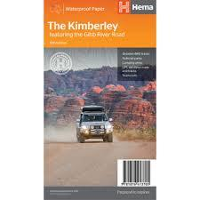 The Kimberley Map 15th Ed (featuring the Gibb River Road) Hema