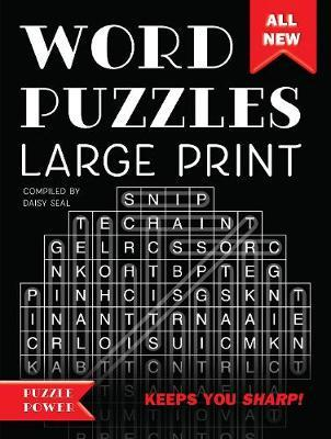 Word Puzzles Large PrintWord Play Twists and Challenges