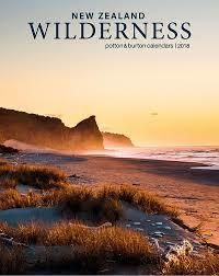 New Zealand Wilderness 2018 Calendar