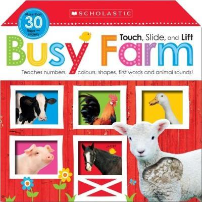 Touch, Slide & Lift: Busy Farm