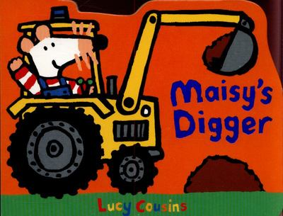Maisy's Digger (Shaped Board)