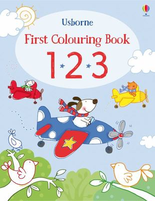 First Colouring Book 1*2*3