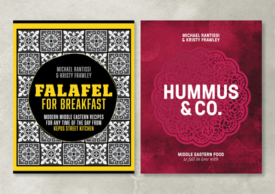 Hummus & Co and Falafel for Breakfast
