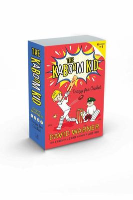 Crazy for Cricket (Kaboom Kid Books 1-4)