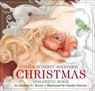 Night Before Christmas Coloring Book