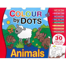Colour By Dots: Sheep